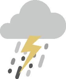 Raincloud graphic